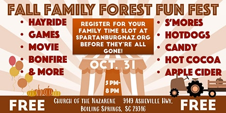 Fall Family Forest Fun Fest