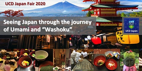 "Seeing Japan through the journey of Umami and ""Washoku"" entradas"