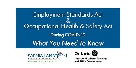 What You Need to Know About The ESA and The OH&SA Related to COVID-19 tickets