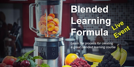 Learn how to Rapidly Create Blended Learning Courses tickets