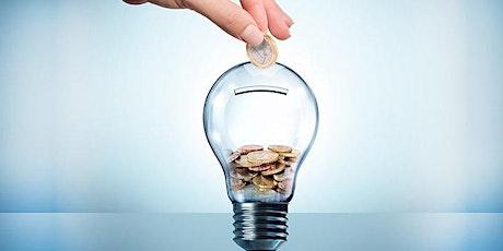 Curso de Gestão de Energia com Foco em Redução de Custos Aplicada a Empresa bilhetes