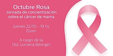OCTUBRE ROSA / CONCIENTIZACION  DEL CANCER DE MAMA entradas