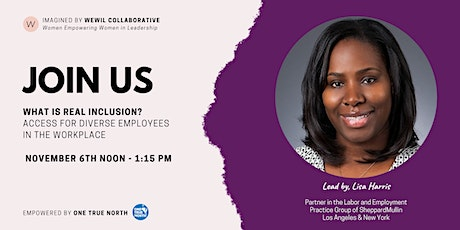 What is Real Inclusion? Access for Diverse Employees in the Workplace tickets