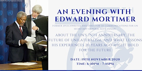 An Evening with Edward Mortimer tickets