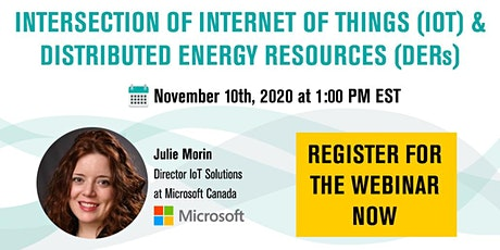 Intersection of Internet of Things and Distributed Energy Resources (DERs) tickets