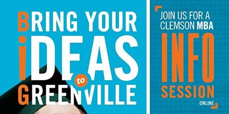 Clemson MBA Virtual Info Session: Full-Time Programs tickets