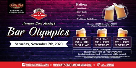 Bar Olympics at Crazy Pour tickets