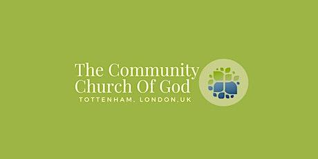 The Community Church of God,UK   Sunday Morning Service tickets