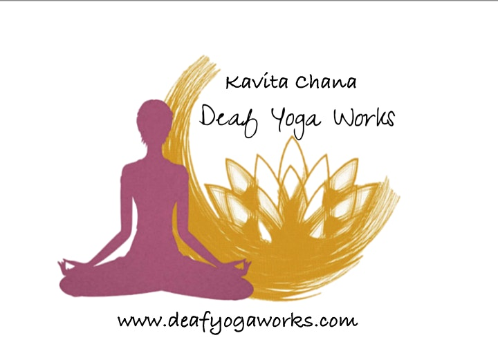Deaf-initely Women: Zoomacise - Yoga with Kavita image