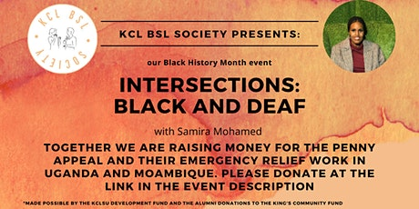 Intersections:  Black & Deaf tickets