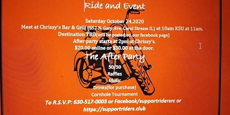 Ride for Bobby tickets