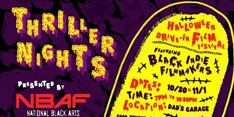 Thriller Nights: Halloween Drive-In Black Film Festival tickets