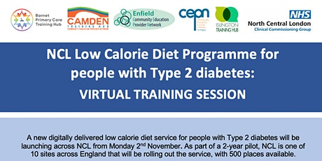 NCL Low Calorie Diet Service - Virtual Training Session tickets