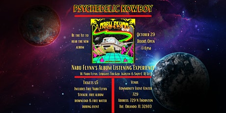 Psychedelic Kowboy Listening Experience tickets