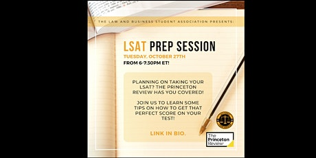 LSAT Prep Session with The Princeton Review tickets