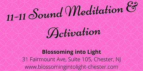 11-11 Sound Meditation & Activation tickets