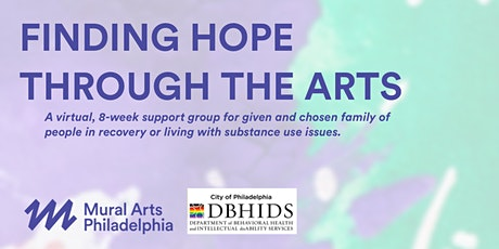 Finding Hope Through the Arts tickets