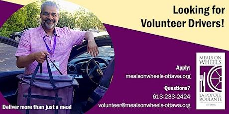 Meals on Wheels Ottawa - Volunteer Driver Training tickets