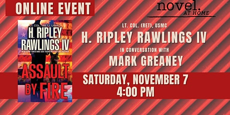 NOVEL AT HOME: H. RIPLEY RAWLINGS IV IN CONV. WITH MARK GREANEY tickets