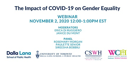 The Impact of COVID-19 on Gender Equality tickets