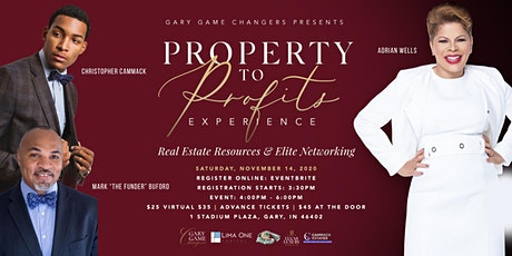 PROPERTY TO PROFITS GARY GAME CHANGERS PART 2 tickets