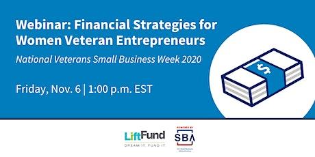 Financial Strategies for Women Veteran Entrepreneurs tickets