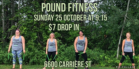 Outdoor Pound Fitness tickets