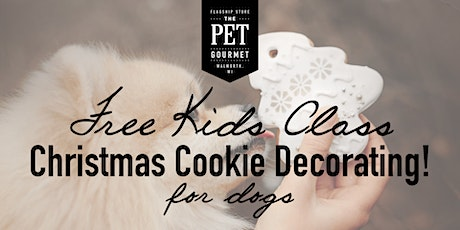 Christmas Cookie Decorating Class - Free Kids Class tickets