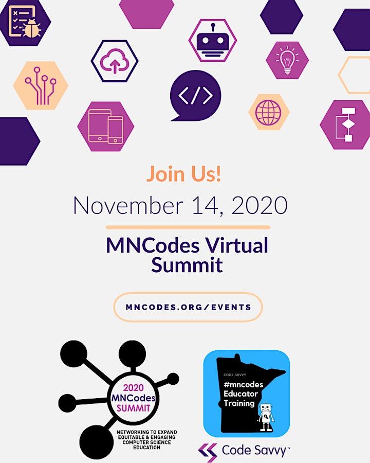 2020 MNCodes Virtual K12 CSEd Summit image