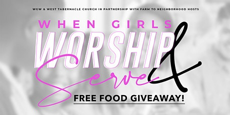 Free Food Giveaway tickets