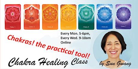 Chakra Healing by Sun Gwang tickets