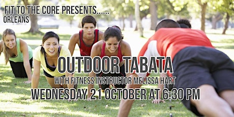 Outdoor Tabata tickets