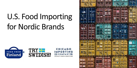 U.S. Food Importing for Nordic Brands tickets
