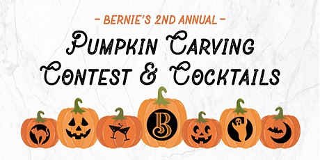 Bernie's Chicago 2nd Annual Pumpkin Carving Contest & Cocktails tickets