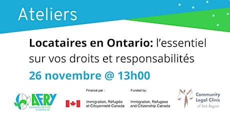 Locataires en Ontario: l'essentiel sur vos droits et responsabilités