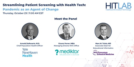 Streamlining Patient Screening with Health Tech tickets
