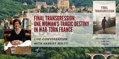 Final Transgression: Online Book Talk with Harriet Welty tickets
