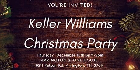 2020 KW Christmas Party tickets