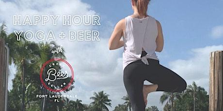 Happy Hour Yoga + Beer at Craft Beer Cellar FTL tickets