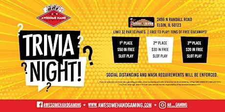 Trivia Night at Elgin Village Pizza tickets