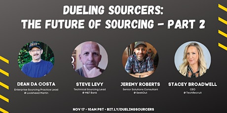 Dueling Sourcers: The Future of Sourcing - Part 2 tickets