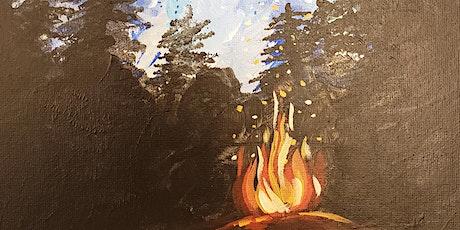 Bonfire Nights Sip & Paint Party - Carrabba's Williamsburg tickets