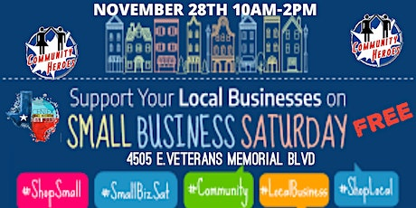 2020 Small Business Saturday Community Heros tickets