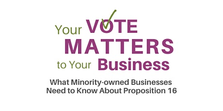 Your Vote Matters To Your Business: An SCMSDC Town Hall tickets