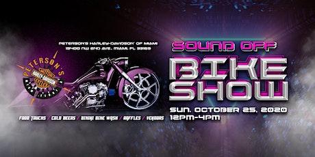 Peterson's HD of Miami Sound Off BIKE SHOW tickets