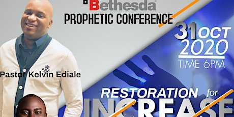 BETHESDA PROPHETIC CONFERENCE 2020 tickets