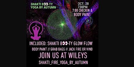 Shakti BOO-ty Glow Flow tickets