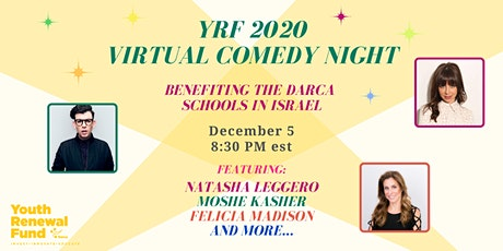 Youth Renewal Fund Virtual Comedy Night tickets