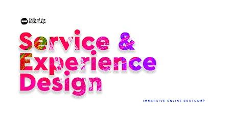 Service & Experience Design | Online Bootcamp bilhetes