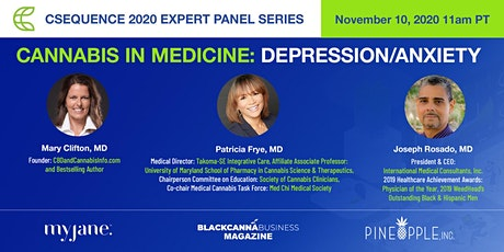 Csequence Expert Panel Series: Cannabis, Anxiety, and Depression tickets